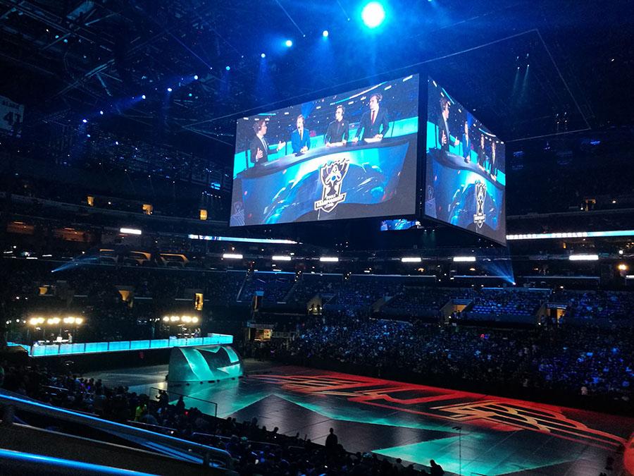 Il campionato mondiale di League of Legends.